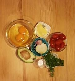 omlet składniki