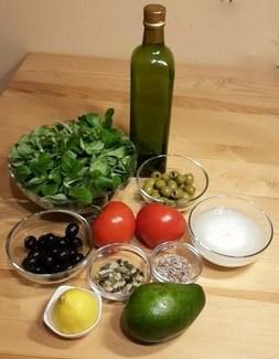 składniki sałatka