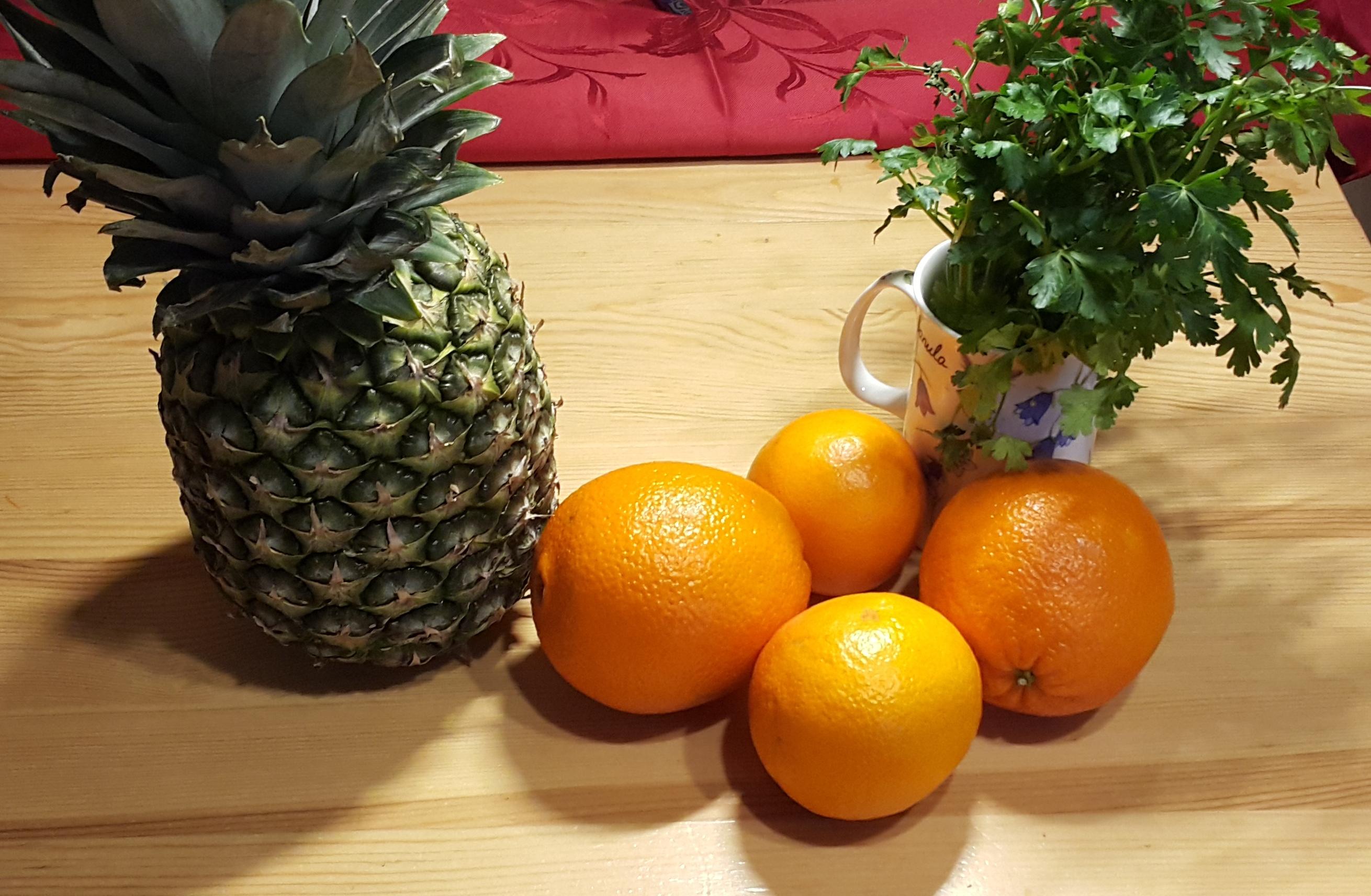 składniki sok z anansa